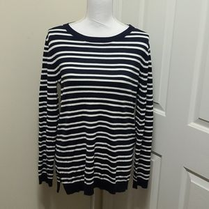NWT Market And Spruce Aubree Elbow Patch Pullover